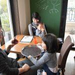 星ヶ丘のカフェでお仕事体験