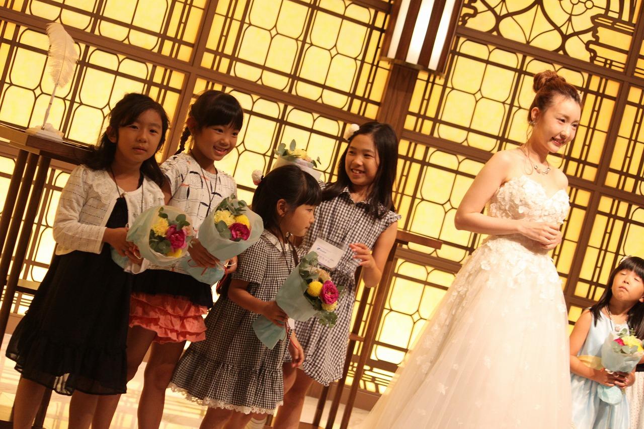 岐阜の結婚式場でウエディングの子どもお仕事体験