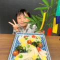 五色の短冊とカラフルそうめんで七夕をアップデート│小学生オンライン体験