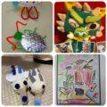 気になる子どもたちのアート作品まとめ|オンラインスクールSTEAM