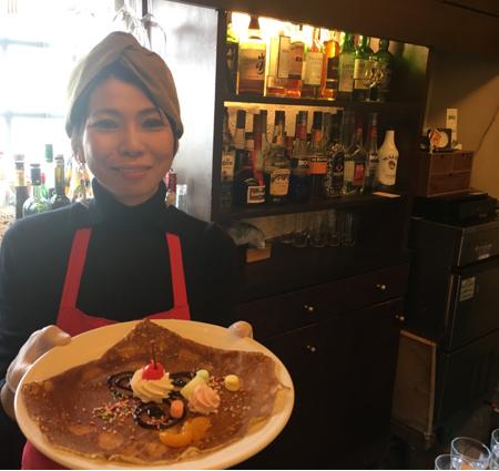 南欧カフェでお仕事体験